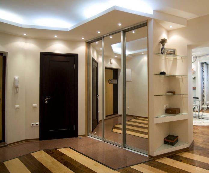 современный дизайн прихожей в квартире идеи фото в интерьере