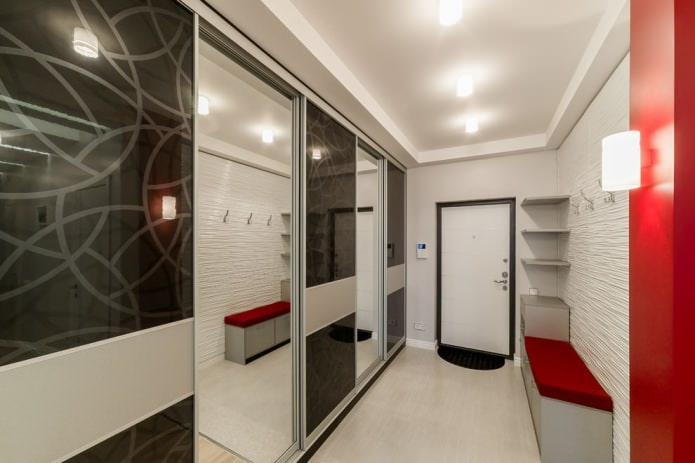 Современный стиль в коридоре