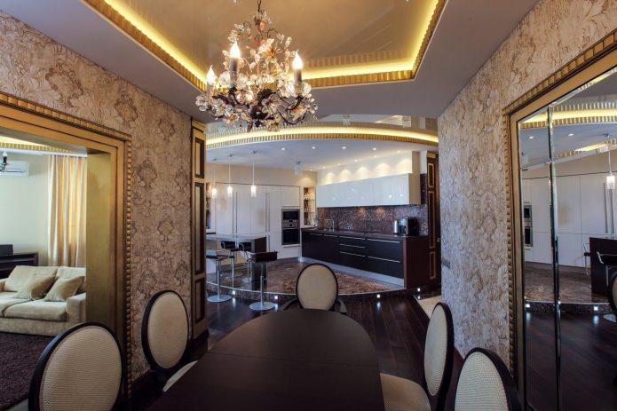 Keukens in art deco stijl