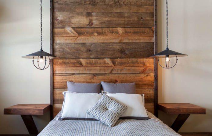 эко-стиль в дизайне небольшой спальни
