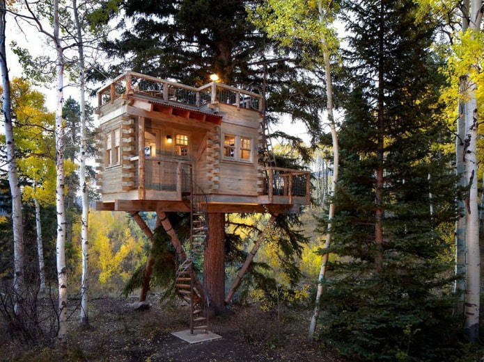 Современные дома в эко-стиле