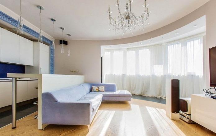 50 фото тканевых натяжных потолков: современные идеи в гостиной, кухне, спальне, детской