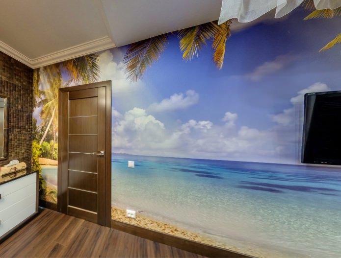 Межкомнатные двери в интерьере квартиры фото