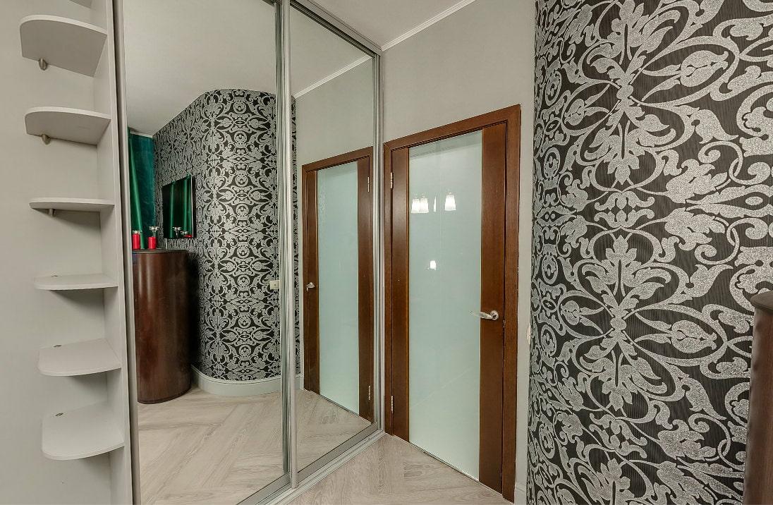 современных фото интерьерах в двери квартир