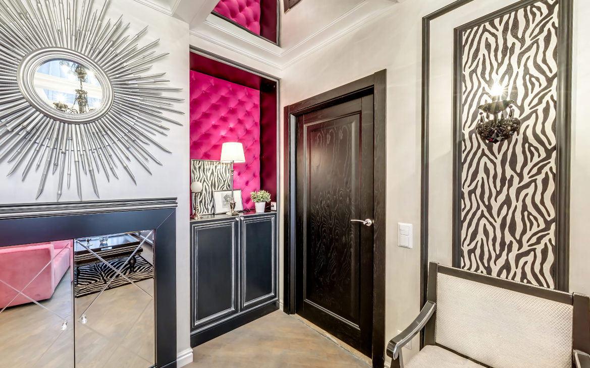 межкомнатные двери в интерьере квартиры материалы цвет фото