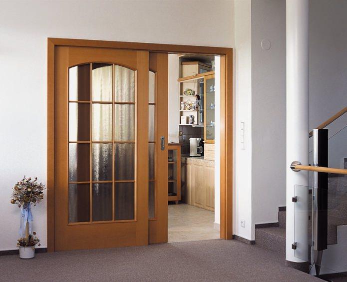 раздвижная межкомнатная дверь-купе