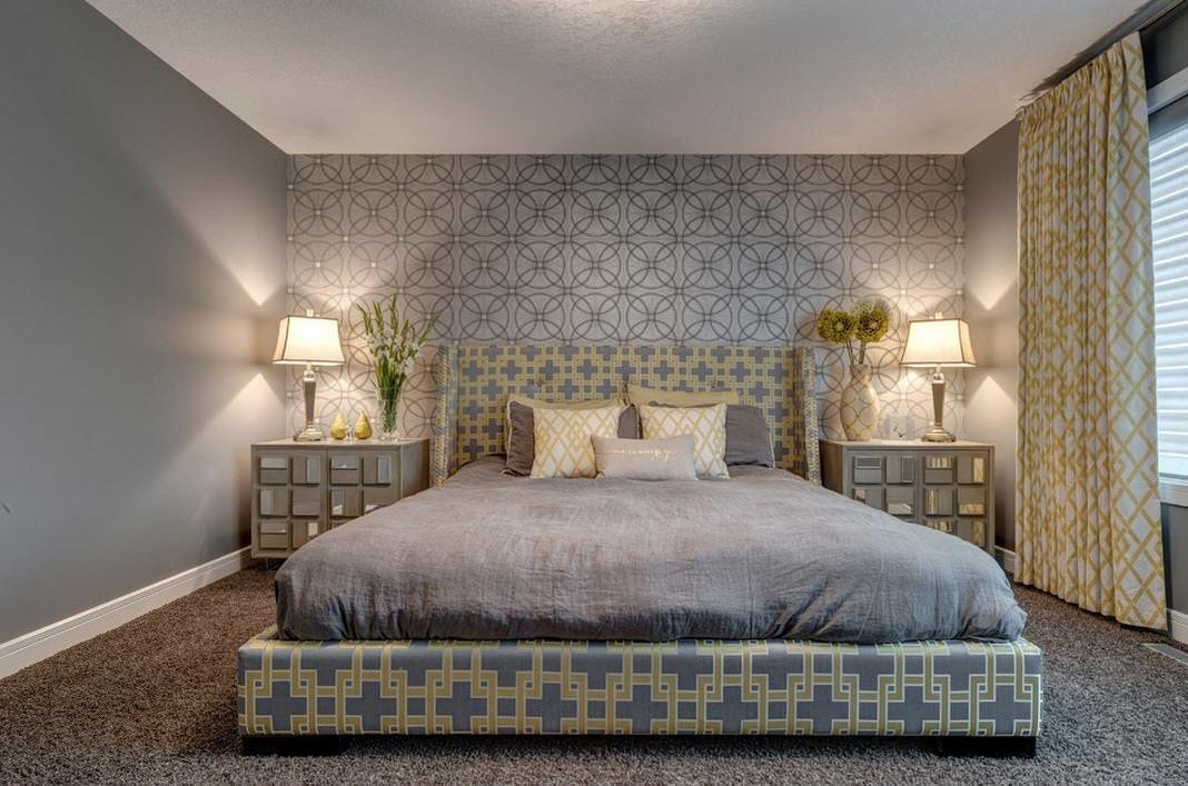 идеи оформления спальни обои фото сопровождается симпатергической реакцией