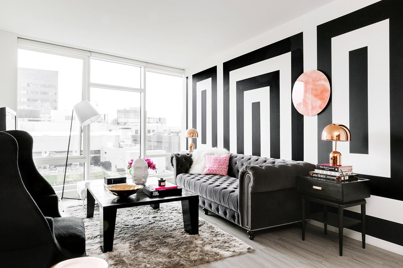 55 - Living room ideas black white and red ...
