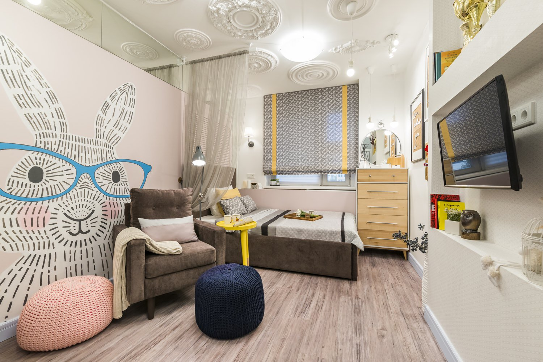 Дизайн детской комнаты для девочки  65 фото интерьеров