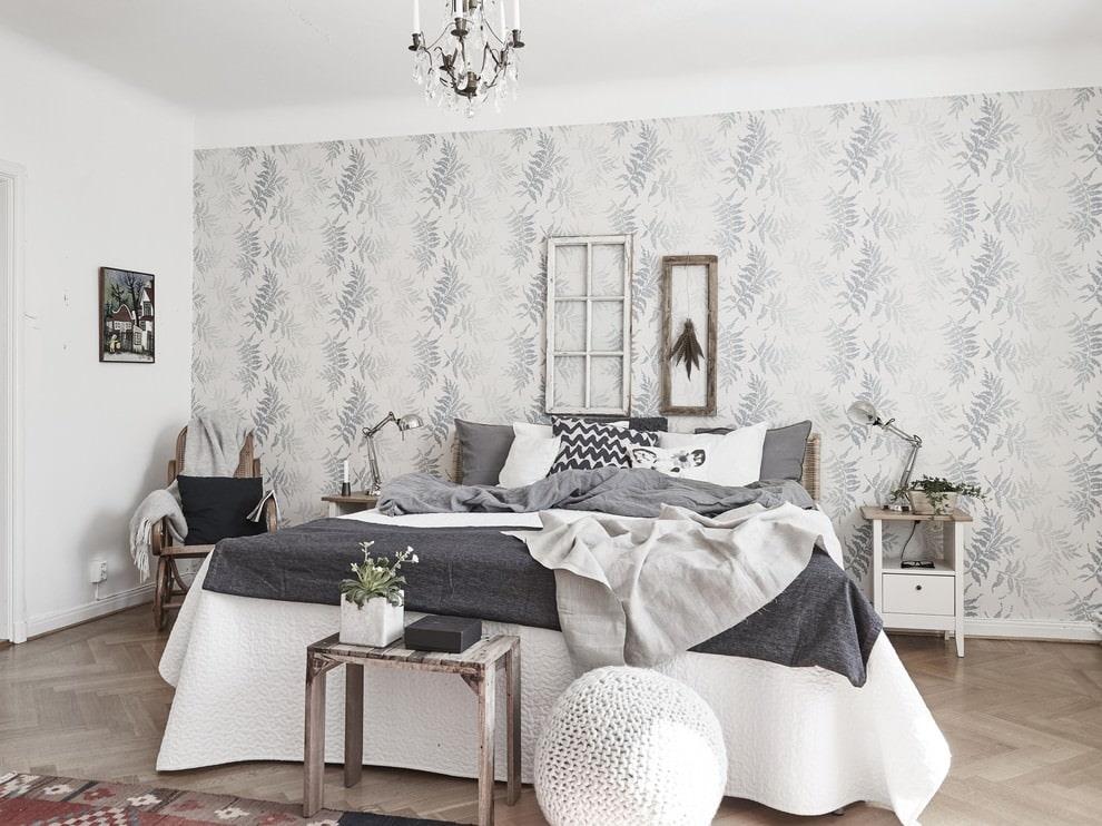 Дизайн стен серого цвета фото