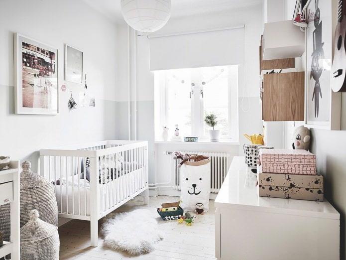 скандинавский дизайн детской
