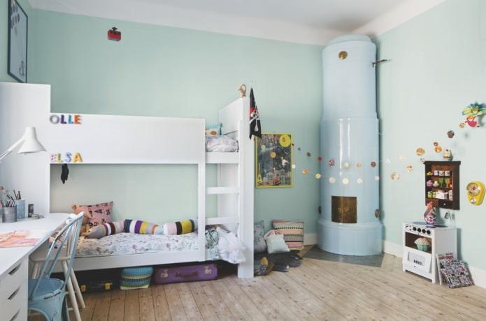 Скандинавский стиль в дизайне детской
