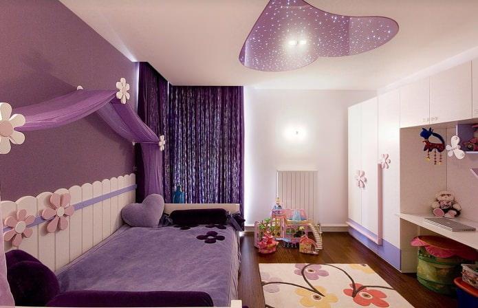 фиолетовая детская