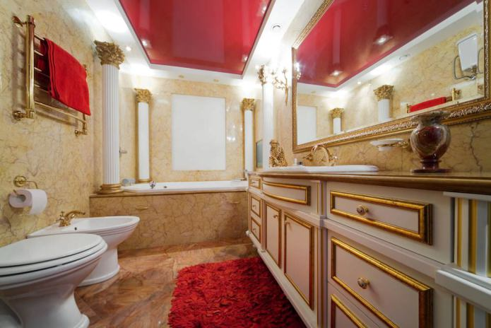 Дизайн прямоугольной ванной комнаты