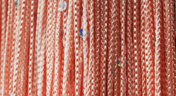 шторы лапша в интерьере