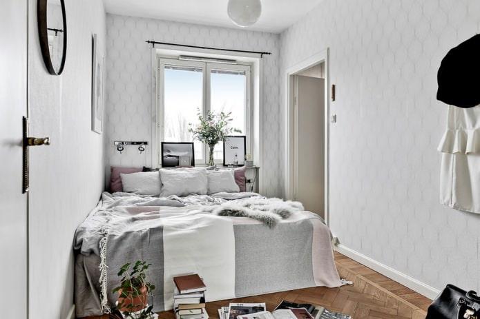 Расстановка мебели в маленькой спальне