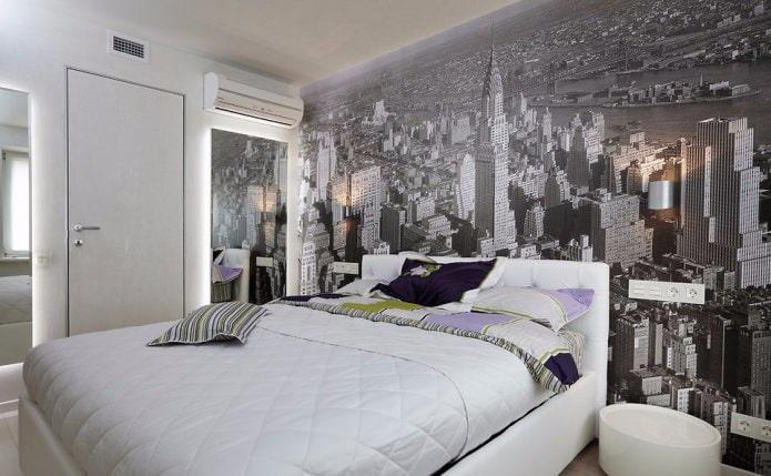 Интерьер спальни в маленькой комнате: 65 современных фото и идей