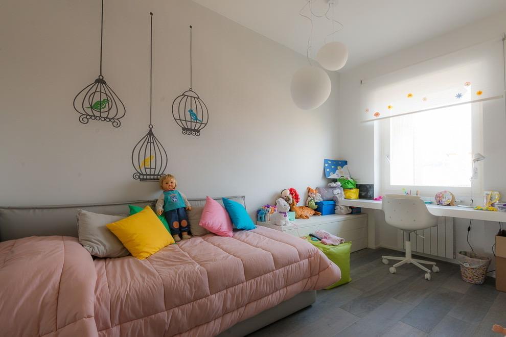 Детская Комната для Девочки: 92 фото (реальные) и 4 идеи