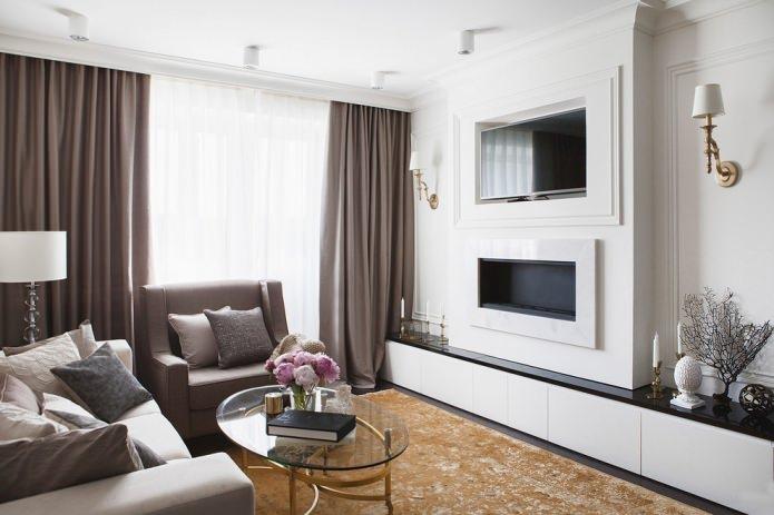 Стили интерьера гостиной: 88 избранных фото и вариантов дизайна