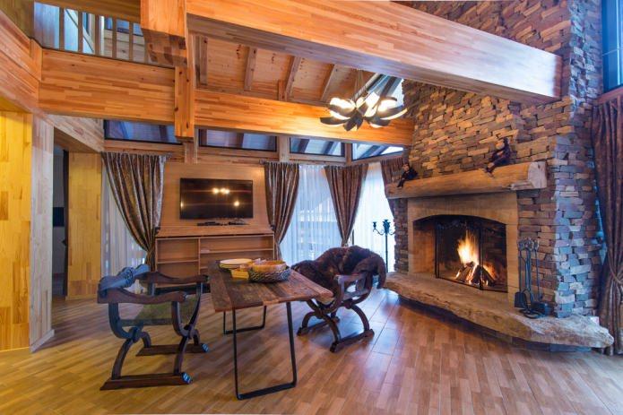 плотные шторы в дизайне дома
