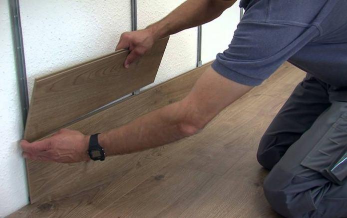 обрешетка для укладки ламинатной доски на стену