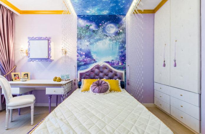 волшебный рисунок в спальню