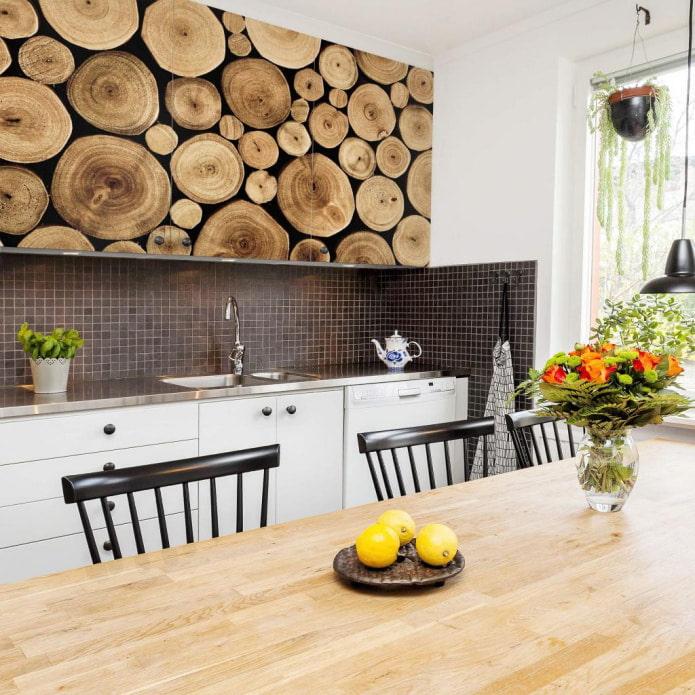 оклейка фасадов кухонного гарнитура