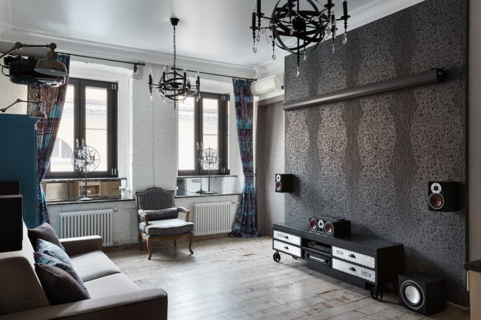 стильная современная комната