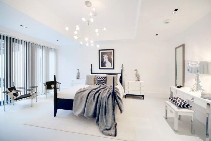Интерьер спальни в светлых тонах: идеи оформления, 55 фото