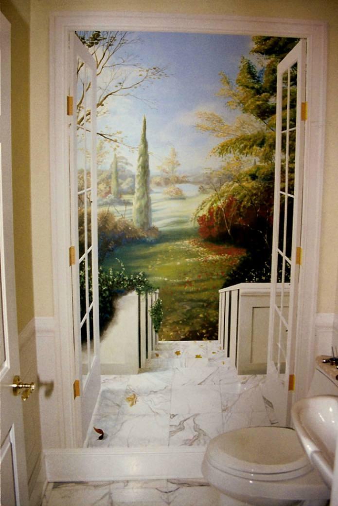 фреска в санузле