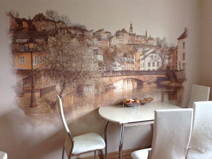 фреска на кухне