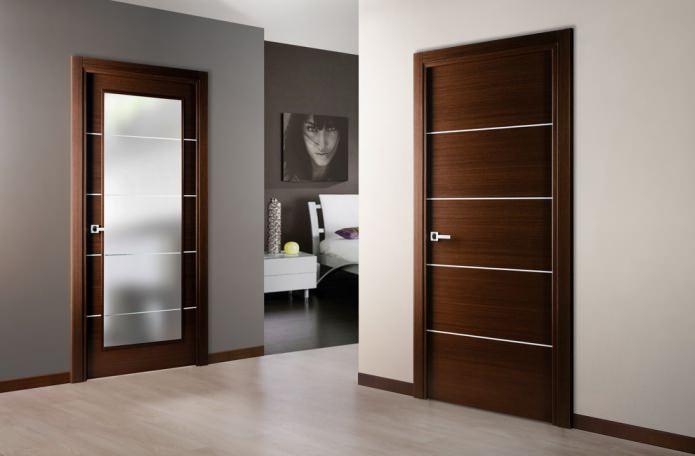 двери в современном интерьере