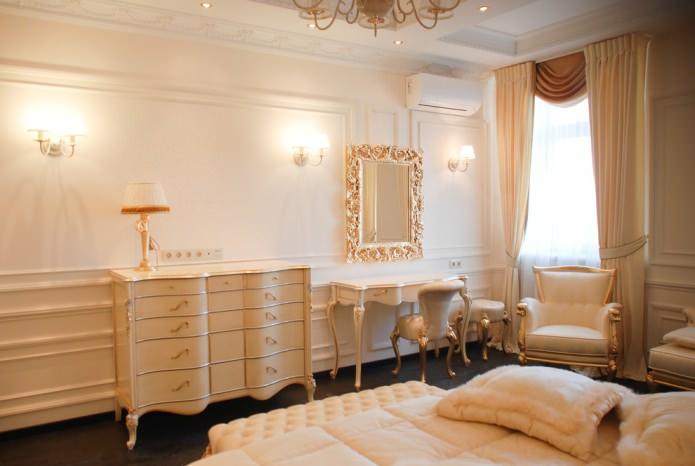 золотая фурнитура мебели