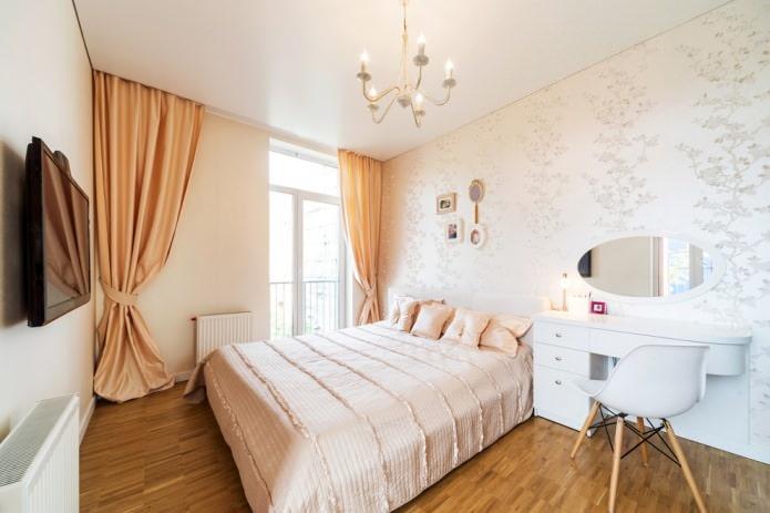 Шторы в интерьере спальни: идеи и варианты оформления (90 фото)