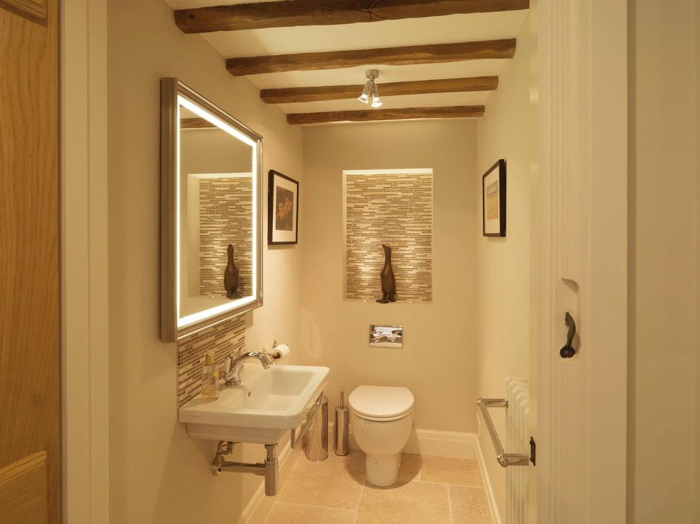Дизайн туалета – оформляем санузел мозаикой и экспериментируем с цветами