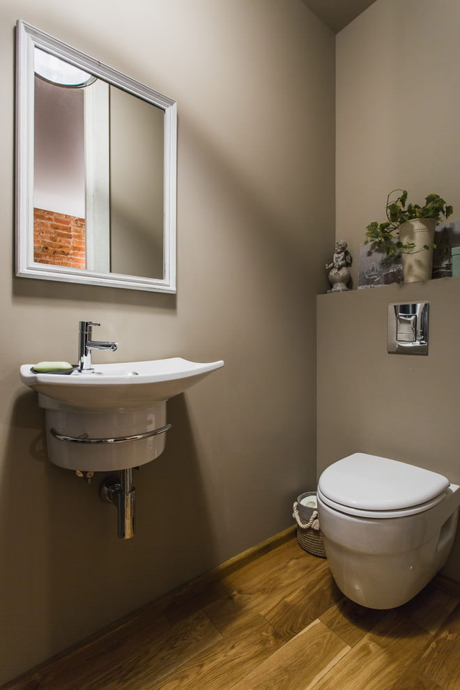 Цвет туалета фото интерьер