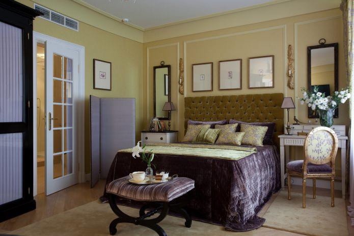 декор спальни в американском стиле