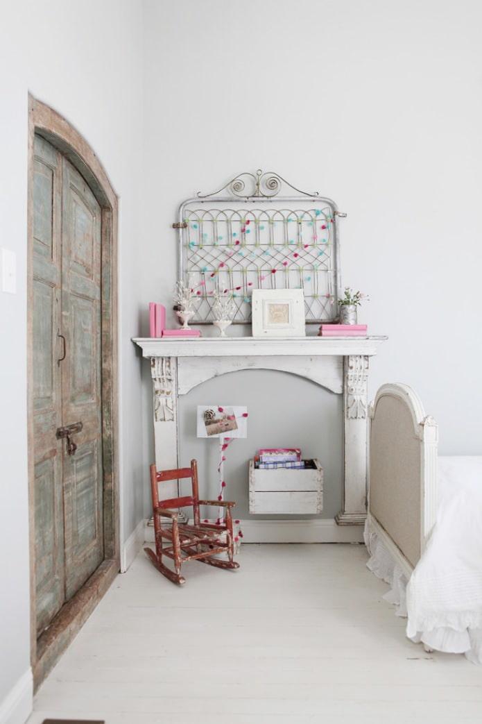 интерьер детской девочки в стиле прованс