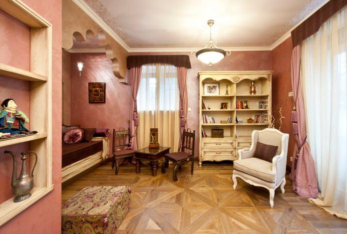 дизайн детской комнаты в итальянском стиле