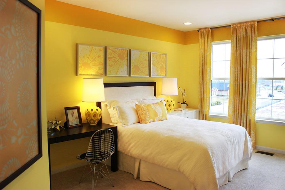 комната в желтом стиле картинки продолжаем оформлять свои