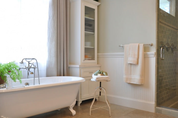 панели и покраска в ванной