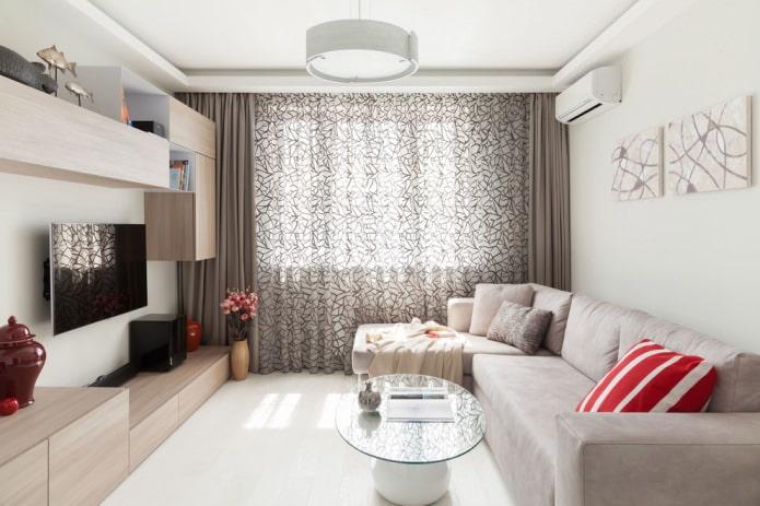современный стиль комнаты