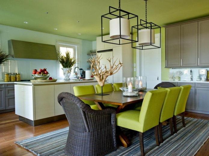 Фисташковый цвет в интерьере (45 фото) сочетания и особенности дизайна