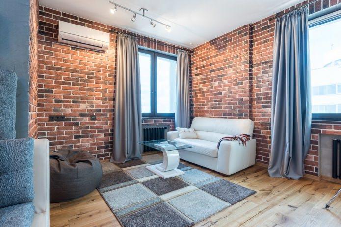 Стильные серые шторы в интерьере комнаты: идеи оформления, 70 фото