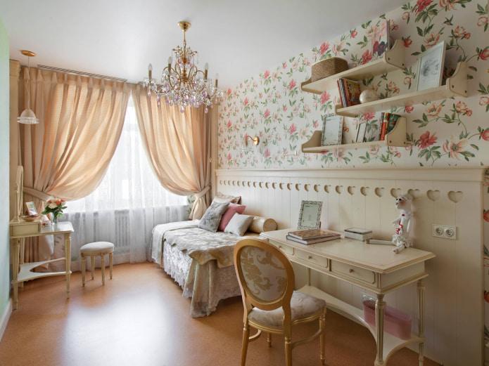 детская комната в стиле классика