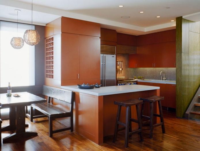 Какие бывают стили кухни: фото, описание и особенности - 53