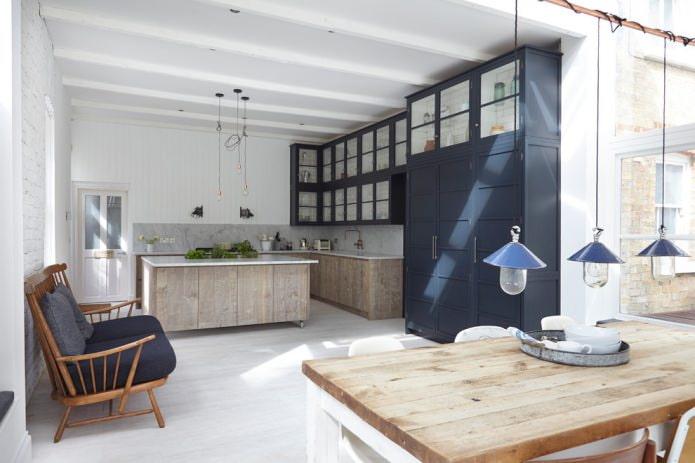 Какие бывают стили кухни: фото, описание и особенности - 69