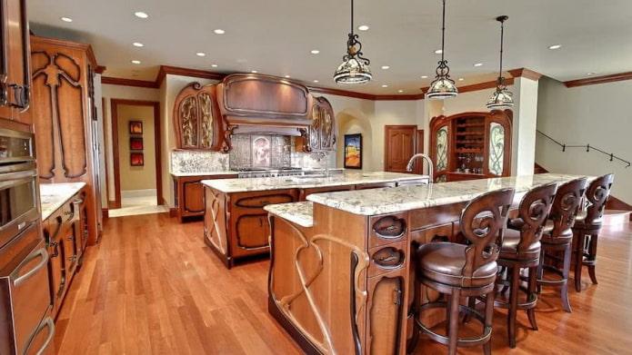 Какие бывают стили кухни: фото, описание и особенности - 44