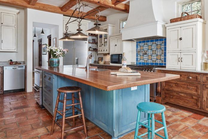 Какие бывают стили кухни: фото, описание и особенности - 47