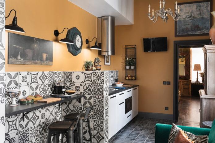 Какие бывают стили кухни: фото, описание и особенности - 46